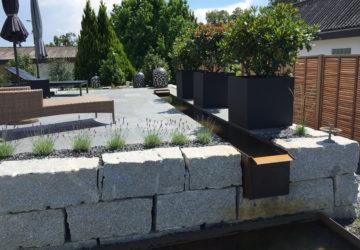 Neugestaltung Garten mit Terrasse 2